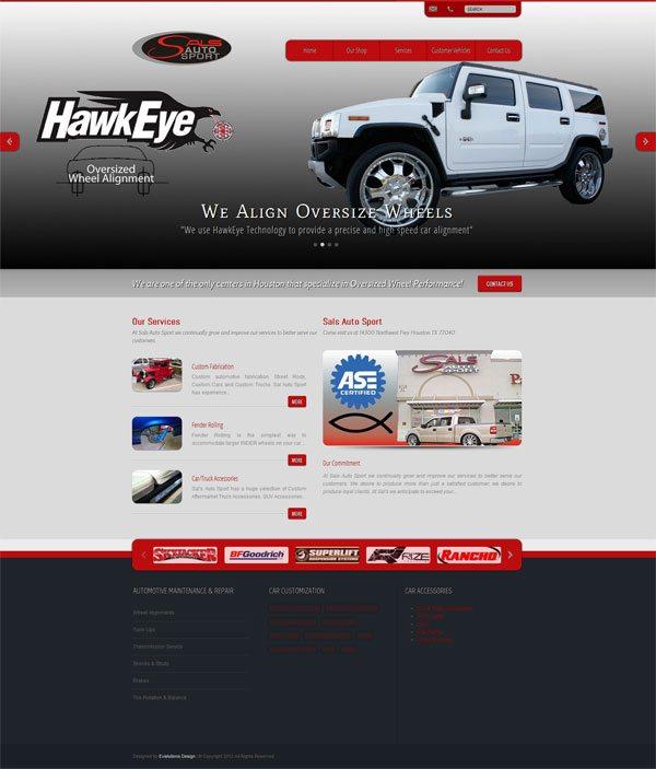 Sals Auto Web Design