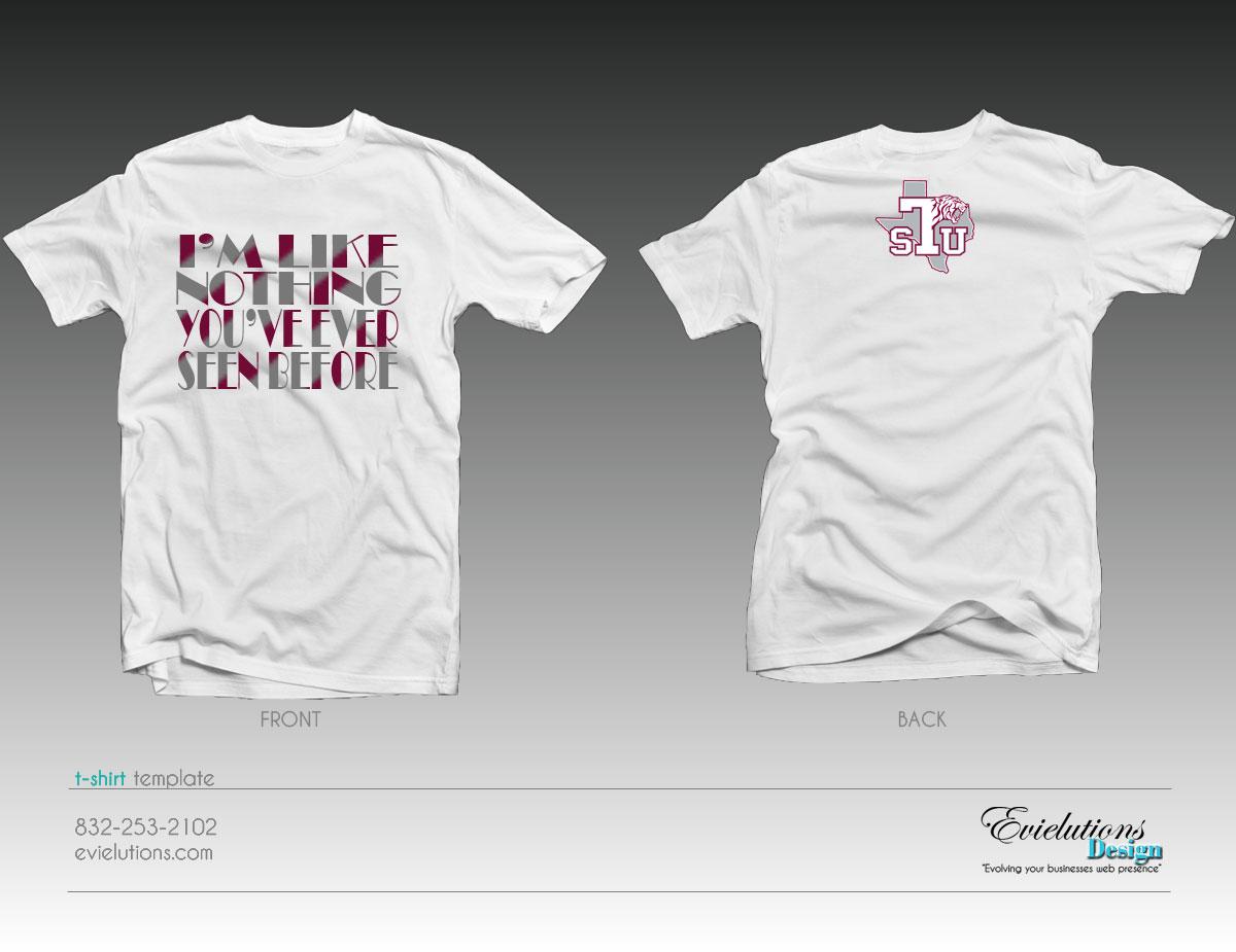TSU T-Shirt Design