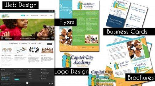 CCFES Business Branding