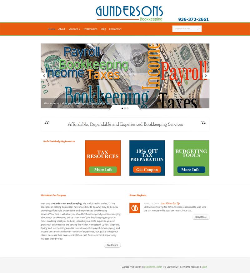 Gunderson's Web Design