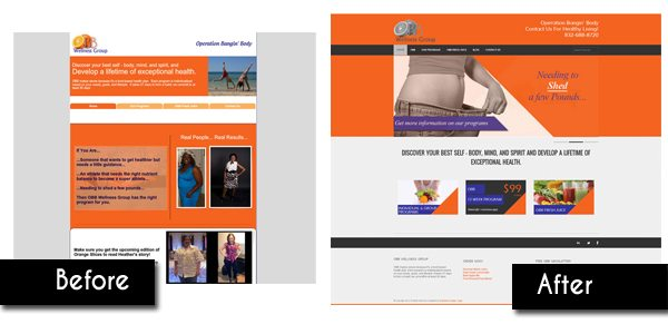 OBB Wellness Web Design