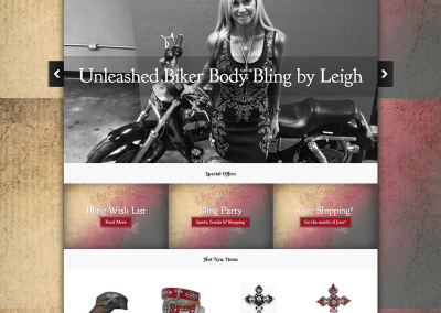 Unleashed Biker Body Bling by Leigh