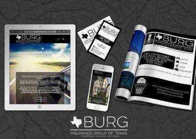 Burg Insurance Business Branding