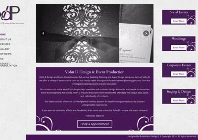 Vohn D Production
