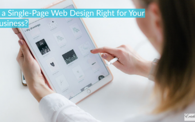 Is a Single-Page Web Design Right for Your Business?