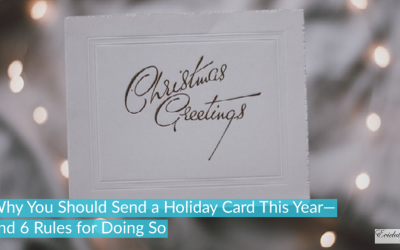 Why You Should Send a Holiday Card This Year—and 6 Rules for Doing So