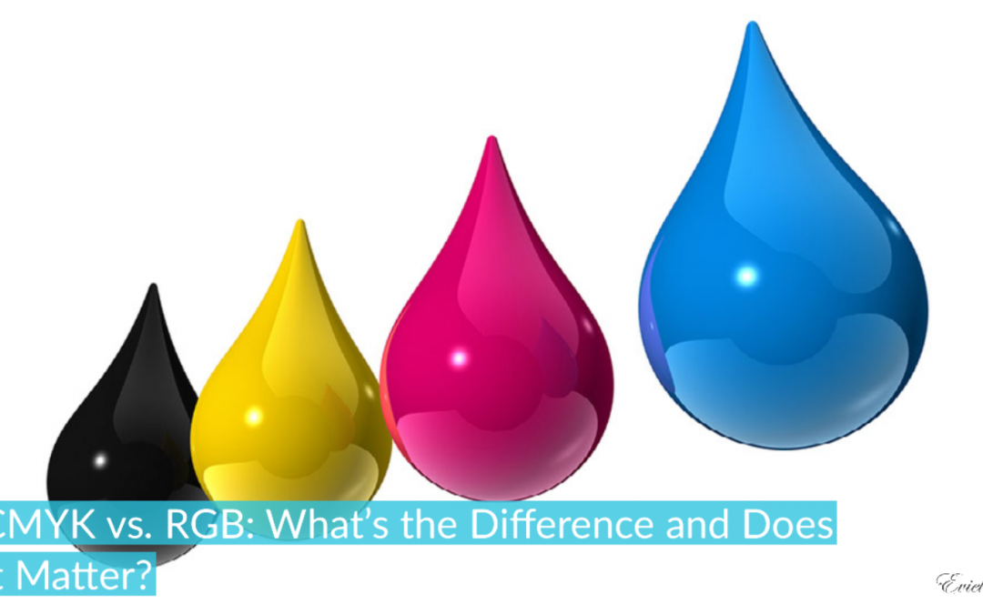 CMYK vs. RGB: What's the Difference and Does it Matter?