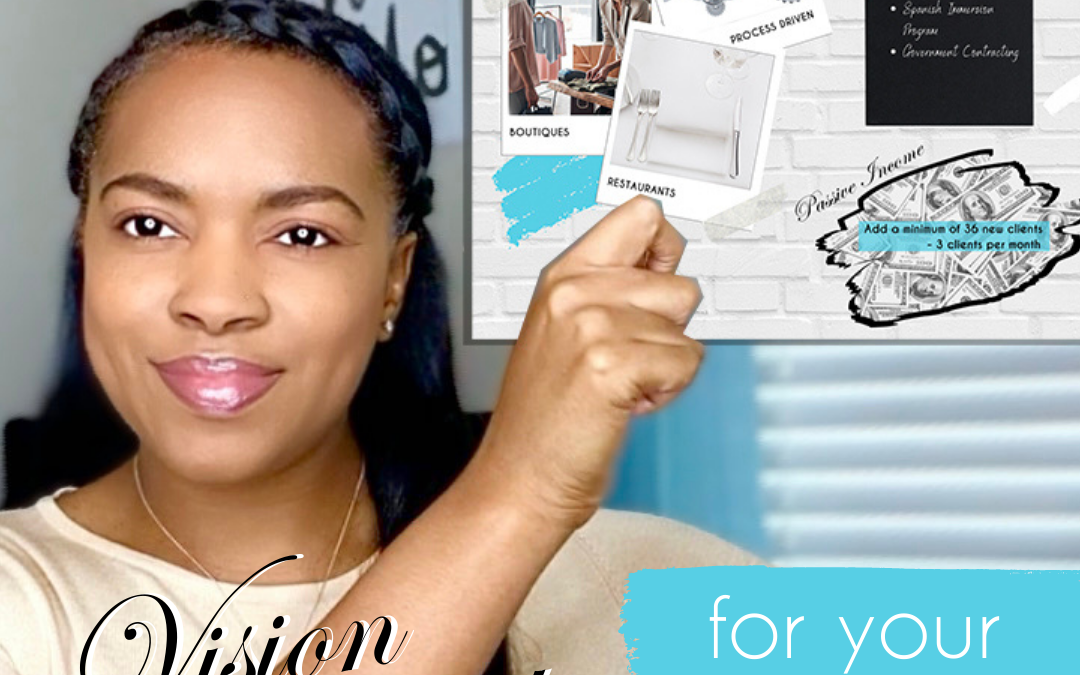 How Can a Vision Board Help You With Your Business