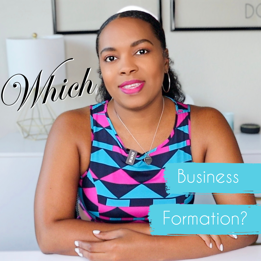 What Business Formations are there?
