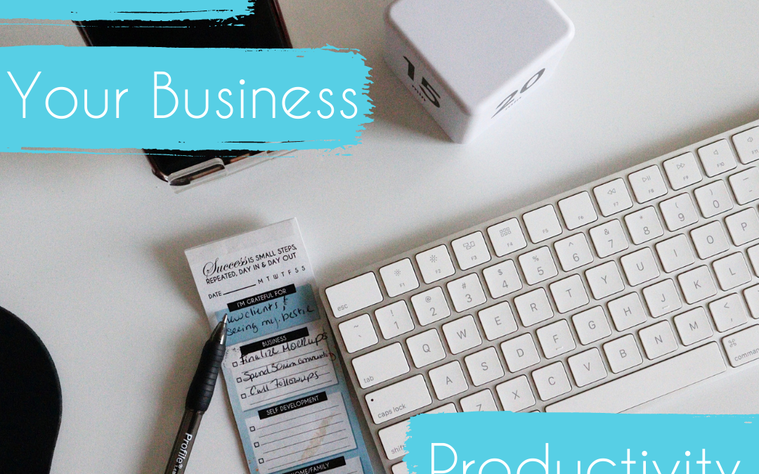 4 Ways to Increase Business Productivity